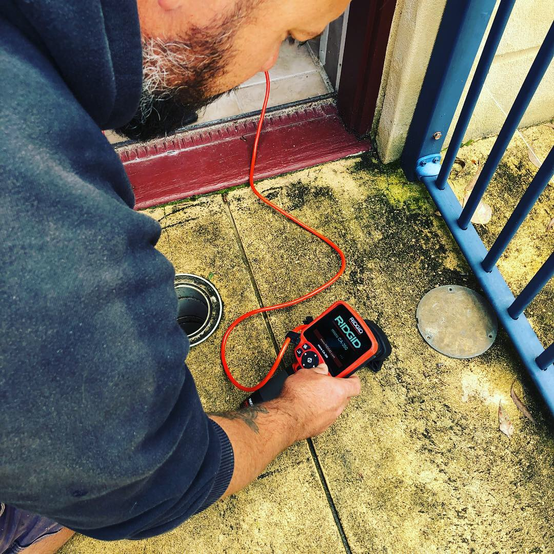 cctv pipe and drain inspections