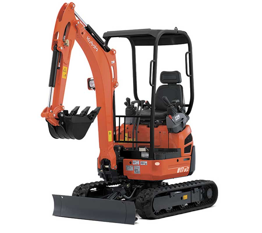 small excavator hire kenec plumbing and gas