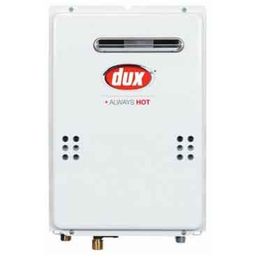Dux 21 lt Continuous Flow Hot Water System